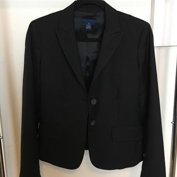 J. Crew Jackets & Blazers - J. Crew Black Blazer Size 4.